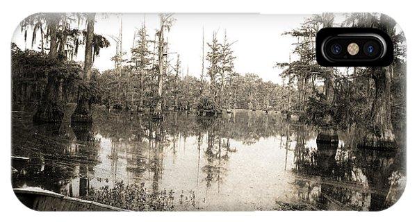 Cypress iPhone Case - Cypress Swamp by Scott Pellegrin