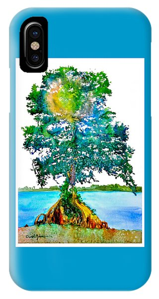 Da107 Cypress Tree Daniel Adams IPhone Case