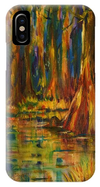 Cypress Trees IPhone Case