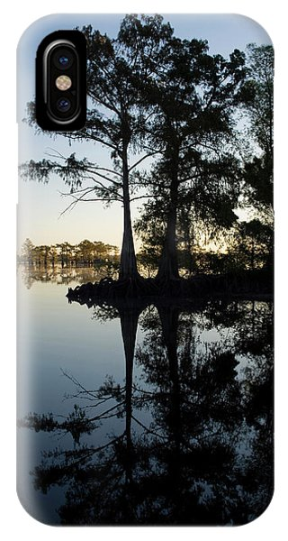 Delta iPhone Case - Cypress Trees In Atchafalaya Basin by Arthur Meyerson