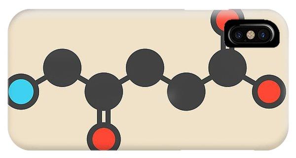 Delta iPhone Case - D-aminolevulinic Acid Drug Molecule by Molekuul