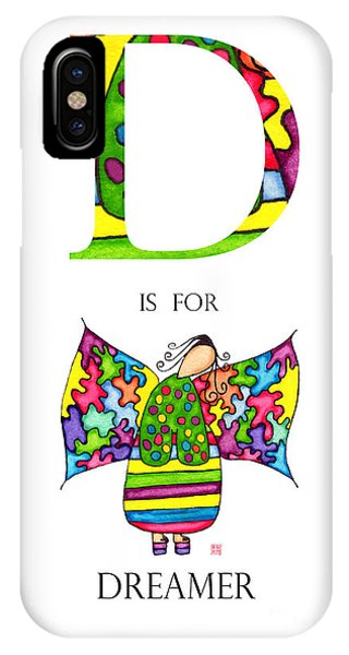 Lupita iPhone Case - D Is For Dreamer by Emily Lupita Studio