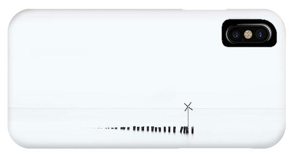 Simple Landscape iPhone Case - D??? X by Jean-marc Aloy