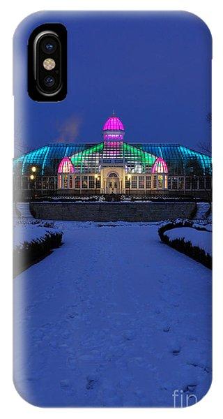 D5l287 Franklin Park Conservatory Photo IPhone Case