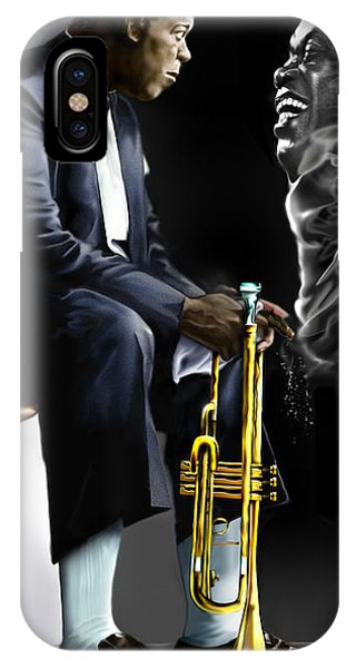 Da Satchmo N Me 1a IPhone Case