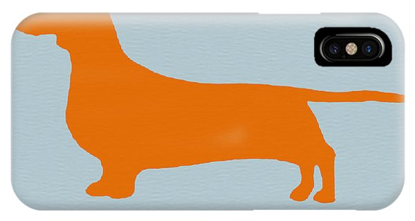 Dachshund Orange IPhone Case