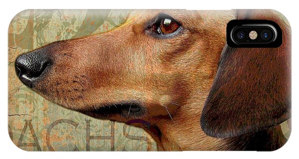 Dachshund Phone Case by Wendy Presseisen