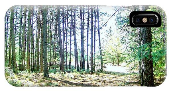 Dad's Woods I IPhone Case