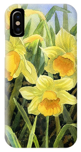 iPhone Case - Daffodils by Anthony Forster