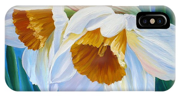 Daffodils Narcissus IPhone Case