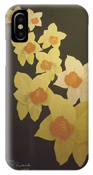 Daffodils IPhone Case