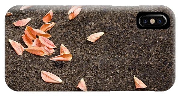 Dahlia Petals IPhone Case