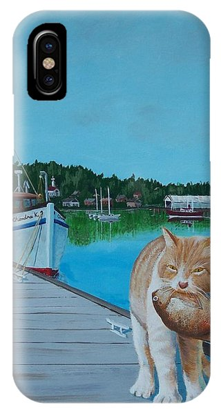 Daily Catch IPhone Case