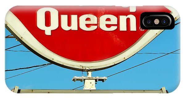 Dairy Queen Sign IPhone Case
