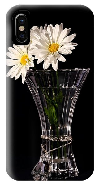 Daisies In Vase IPhone Case