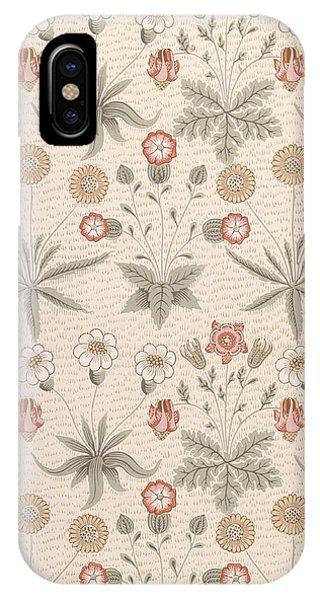 Repeat iPhone Case - Daisy, First William Morris Design by William Morris