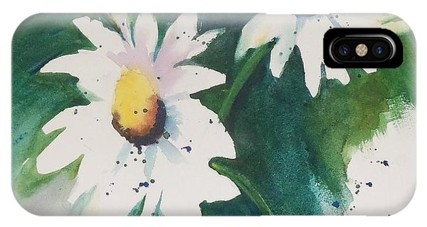 Daisy Print IPhone Case