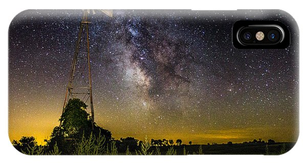 Light Paint iPhone Case - Dakota Night by Aaron J Groen
