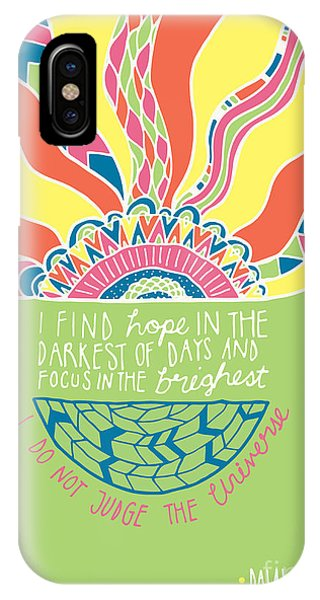 Positive iPhone Case - Dalai Lama Quote by MGL Meiklejohn Graphics Licensing