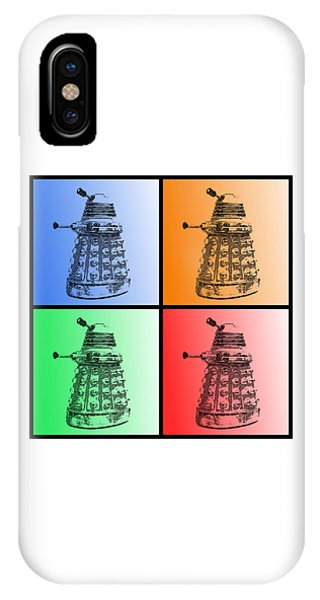 IPhone Case featuring the photograph Dalek Pop Art by Richard Reeve