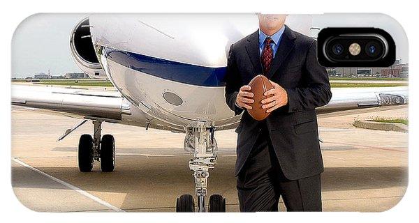 Dallas Cowboys Superbowl Quarterback Troy Aikman IPhone Case