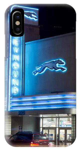 Dallas Greyhound V2 020915 IPhone Case