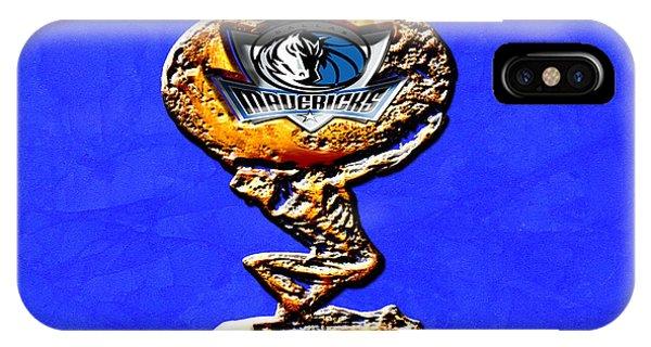 Jason Terry iPhone Case - Dallas Mavericks by Brian Reaves