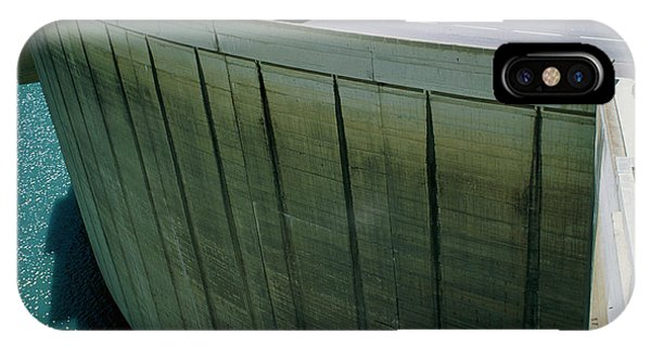 Dam Used For Hydroelectric Power Generation Phone Case by Science Photo Library