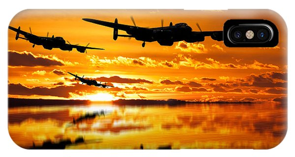 Dambusters Avro Lancaster Bombers IPhone Case