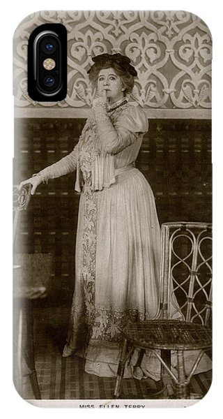 Dame Ellen Alice Terry (1847  1928) Phone Case by Mary Evans Picture Library