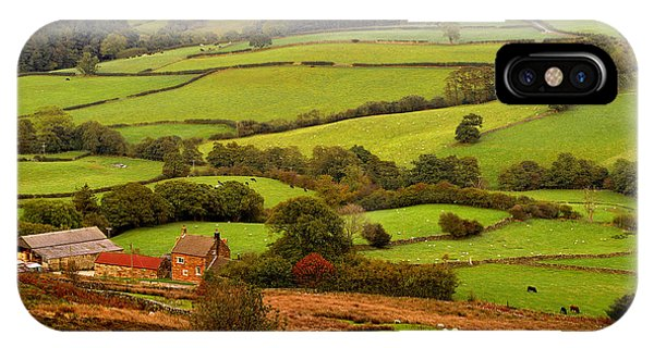 Danby Dale Yorkshire Moors IPhone Case