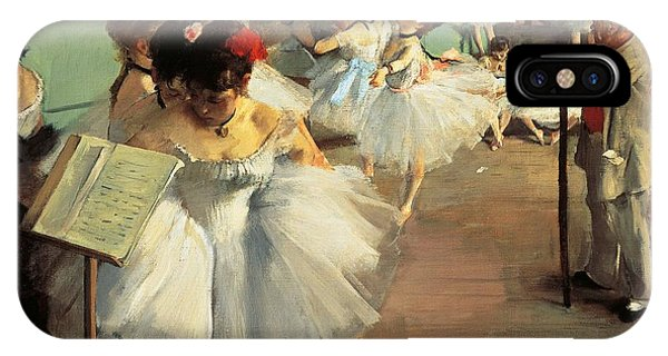 Elegant iPhone Case - Dance Examination by Edgar Degas