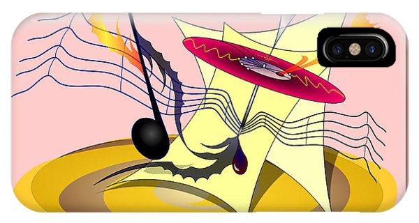 Dance Music IPhone Case