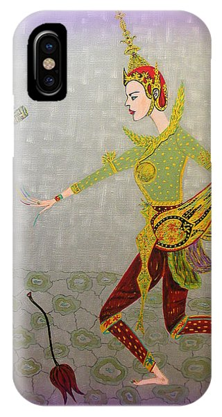 Dance Of A Nymph IPhone Case