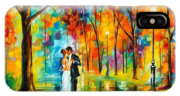 iPhone Case - Dance Of Love by Leonid Afremov