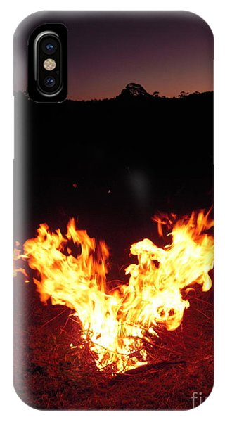 Fire In Your Heart IPhone Case