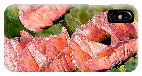Dance Of The Poppies IPhone Case