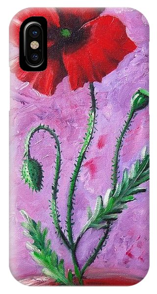 Dance Of The Poppy IPhone Case