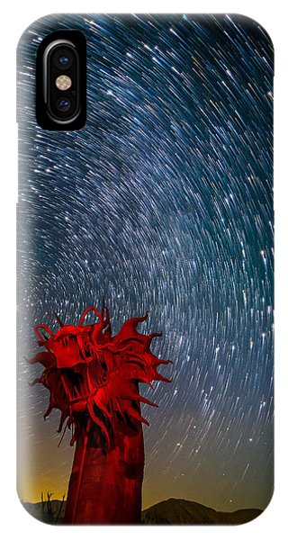 Dance Of The Star Serpent IPhone Case