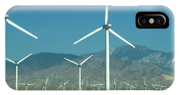 Dance Of The Wind Turbines IPhone Case