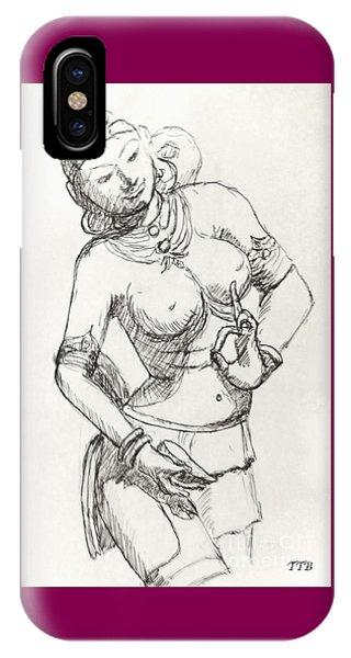 Dancer Of India IPhone Case