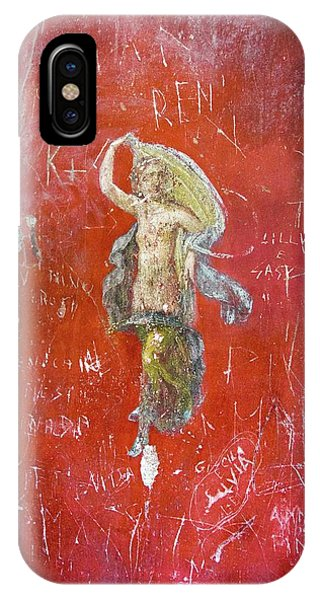 Dancer Painting In Pompeii. Phone Case by Mark Williamson/science Photo Library