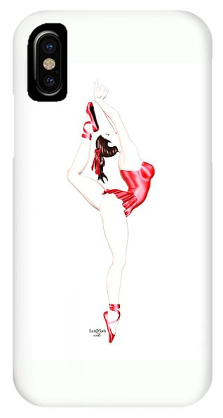 Luxmaris iPhone Case - Dancer by Renate Janssen