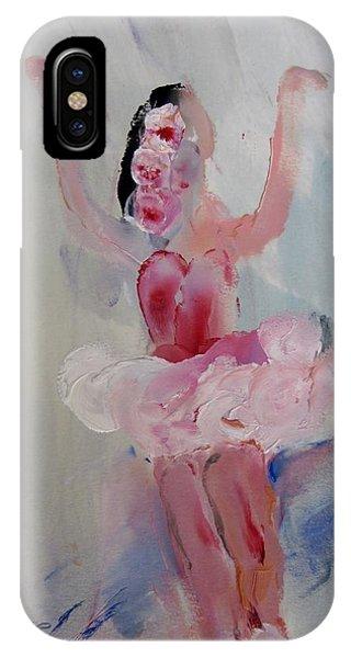 Dancers 134 Phone Case by Edward Wolverton