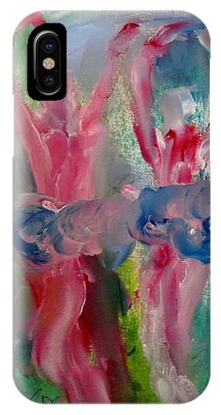 Dancers 141 Phone Case by Edward Wolverton
