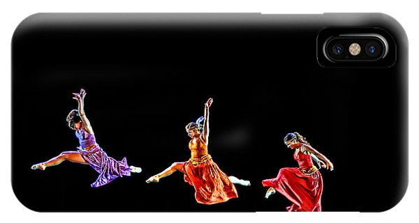 Dancers In Flight IPhone Case