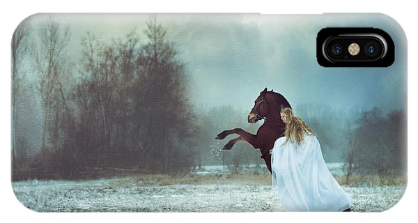 Fairy Tales iPhone Case - Dances With The Horse by Magdalena Russocka