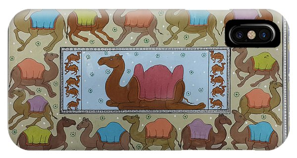 Dancing Camels IPhone Case