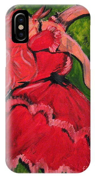 Dancing Doll IPhone Case