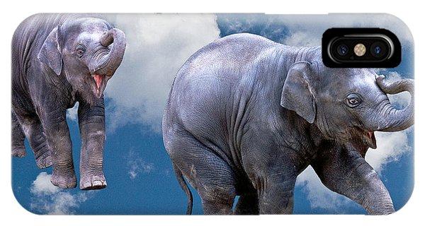 Dancing Elephants IPhone Case